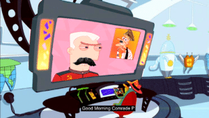 Good Morning, Good, and Stalin: Good Morning Comrade P Rare photo of Stalin briefing one of his KGB agents on the Nazi threat. (Colorized, Circa 1941)