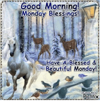 Good morning blessings The Peace Ponies Domino & Puzzle: Good Morning!  Monday Blessings  Me  Have A Blessed  &  Beautiful Monday!  The Mafia  PicMiX Good morning blessings The Peace Ponies Domino & Puzzle