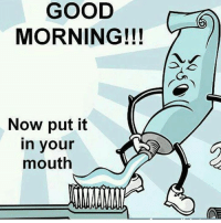 GOOD  MORNING!!!  Now put it  in your  mouth More at: Fukin Badass