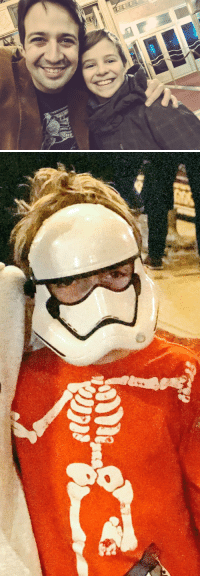 Memes, Stormtrooper, and Good: Good night from yours truly & the other Baby Blankenbuehler and another stowaway stormtrooper  WOOOOOOOOOOOOOOOOOOOO https://t.co/16h3vGsXYc