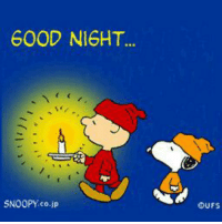 Goodnight everyone.: GOOD NIGHT  SNOOPY co.jp  OUFS Goodnight everyone.