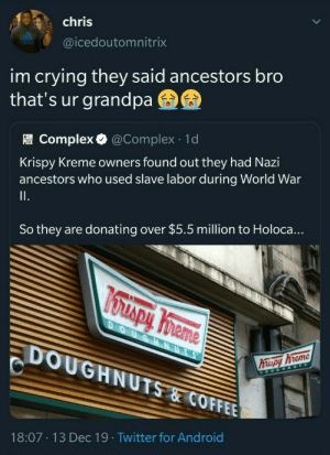 Good on them for donating money tho. (via /r/BlackPeopleTwitter): Good on them for donating money tho. (via /r/BlackPeopleTwitter)