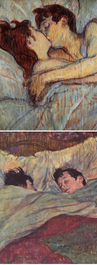 Tumblr, Blog, and Http: goodreadss:  Henri de Toulouse-Lautrec: In Bed, 1892-93
