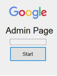 Google, How, and Page: Google  Admin Page  4  Start How Google likes to operate