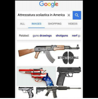 sottovuotocerebrale sottovuoto: Google  Attrezzatura scolastica in America  x O  ALL  IMAGES  SHOPPING  VIDEOS  Related  guns drawings  shotguns  nerf gu  SOTTOVUOTO CEREBRALE sottovuotocerebrale sottovuoto