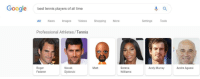 https://t.co/eLEqHFfBWJ: Google  best tennis players of all time  All News Images Videos ShoppingMore  Settings  ools  Professional Athletes/Tennis  Roger  Federer  Novak  Djokovic  Matt  Serena  Williams  Andy Murray  Andre Agassi https://t.co/eLEqHFfBWJ