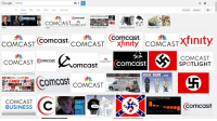 """This is what happens when you Google """"Comcast."""": Google  Comcast  View saved  SafeSearch  All Images Maps News Videos  More Search tools  Comcast.  Comcast.  Potato Salad  Office Depot CEO  Gaming Console  Comcast  COMCAST  Comcast.  CoMCAST Xfinity CoMCAST Xlinity  COMCAST  COMCAST Comcast.  COMCAST  COm  SP 3TLIGHT  OmCast  Comcast  More video  on demand.  COMCAST  A Tough Year For Many Media Companies  COMCAST  Comcast  BUSINESS This is what happens when you Google """"Comcast."""""""