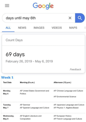 Google Days Until May 6th All News Images Videos Maps Count Days