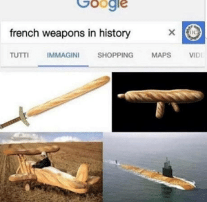 Ah qui ma petite croissant: Google  french weapons in history  IMMAGINI  TUTTI  SHOPPING  MAPS  VIDE Ah qui ma petite croissant