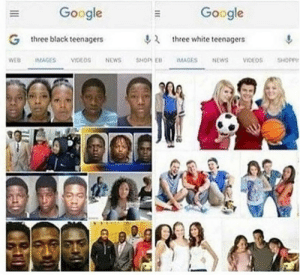 Dank, Google, and Memes: Google  Google  G  three black teenagers  2  three white teenagers Meirl by xxite MORE MEMES