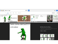 me irl: Google  green  funky doggo  All images VIdeos  News More  Search tools  here come dat boi  o shit wadd  shit waddupl  here come dat boi  Oh shit waddup  here come dat boi!!!!  o shit waddup!  Signin  Security Question:  Its  Security Answer:  me irl  Dat Boi I Know Your Meme  knowyourmeme.com 640 640 Search by  image  posted an image of a green frog riding a unicycle with the caption here  come dat boi!!!!! o shit waddupr (shown below)  Visit page me irl