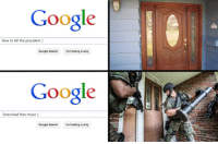 "Google, Meme, and Music: Google  How to kill the president |  Google Search I'm Feeling Lucky  Google  Download free music |  Google Search  I'm Feeling Lucky <p>Does this new meme format have the potential to rise in value? via /r/MemeEconomy <a href=""http://ift.tt/2nP9YJm"">http://ift.tt/2nP9YJm</a></p>"
