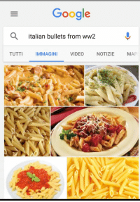 italian: Google  italian bullets from ww2  TUTTI  IMMAGINI  VIDEO  NOTIZIE  MAP