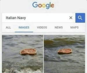 Google, News, and Videos: Google  Italian Navy  X  ALL  IMAGES  VIDEOS  NEWS  MAPS Navy a la italia