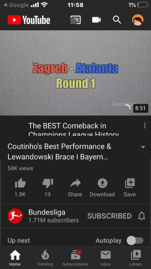 THis got taken down for having a shirt tee was x t so jams. Najhdbh j is no f glitz g k leak by y all all fm Sc h hv so full till FCC go go to r c u: Google ll  11:58  1% I  • YouTube  Zagreb-Atalanta  Round 1  Vane  8:51  The BEST Comeback in  Chamnions League History  Coutinho's Best Performance &  Lewandowski Brace I Bayern..  54K views  Share  Download  1.8K  19  Save  R Bundesliga  1.71M subscribers  SUBSCRIBED A  Autoplay  Up next  Trending  Library  Home  Subscriptions  Inbox THis got taken down for having a shirt tee was x t so jams. Najhdbh j is no f glitz g k leak by y all all fm Sc h hv so full till FCC go go to r c u