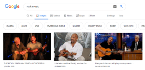 Google Rock Music Maps a All Images Videos News More