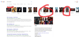 Bane, Darth Vader, and Empire: Google  Sith characters  O Shopping  E News  Q Al  O Images  O Videos  : More  Settings  Tools  Sith/Sith characters  DARTHALA  General  Grievous  Darth Bane  Count Dooku  Mace Windu  Darth Malak  Asaj Ventre:  Darth Maul  A'Sharad Hett  Sheev  Darth Vader  Jar Jar Binks  Supreme  Obi-Wan  Revan  Palpatine  Leader Snoke  Kenobi  Sith Characters - Giant Bomb  https://www.giantbomb.com > sith > characters  Characters. Ajunta Pall. In the Star Wars storyline, Ajunta Pall was the first Dark Lord of the  Sith, a title he took after having been exiled from the Jedi Order. Aloysius Kallig. An ancient Sith  Lord who lived during the time of the Old Sith Empire. Asaj Ventress. Atris. Atton Rand. Boc  Aseca. Count Dooku. Darth ..  More images  Sith   StarWars.com  https://www.starwars.com > databank > sith -  Sith  An ancient order of Force-wielders devoted to the dark side, the Sith practice hate, deception,  and greed. Notable for their red-bladed lightsabers, black dress,  The Sith are the main antagonists in the Star Wars universe.. The  Sith Order are depicted as an ancient monastic and kraterocratic  Sith Characters - SWGOH.GG  https://swgoh.gg > characters > sith -  organization of supernaturally gifted Force-wielders driven by a  machiavellian agenda of galactic domination and revenge against  Check out all the latest SWGOH Characters, stats and abilities on the Star Wars . Strong  their arch-rivals, the Jedi Order. Wikipedia  Sith Support who inflicts a large number of debuffs including Shock, ..  Key people: Darth Maul; Darth Tyranus; Darth Vader  The Best Sith Characters In 'Star Wars', Ranked By Fans  https://www.ranker.com > list > best-sith-characters > ranker-entertainment -  Universe: Star Wars  Founded: 25,000+ BBY  Whether you're all for their dark use of the Force or you love seeing these maniacal masters  Official language: Basic  ::: You okay Google?