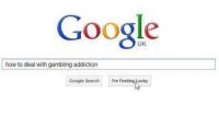 gambling: Google  UK  how to deal with gambling addiction  Google Search rmfeelinglucky