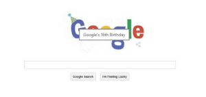 philsphancake:  synchronizedlameness:  guys, you know what this means?? google drive  People like you should be arrested : Google's 16th Birthday  Google SearchmFeeling Lucky philsphancake:  synchronizedlameness:  guys, you know what this means?? google drive  People like you should be arrested