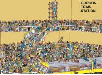 "Inspired by ""Where's Wally?"", here you have ""Where's Gladys?"", Gladys Berejiklian, NSW Premier, is nowhere to be found during recent #TrainMeltdowns, find where she is in this image (more details in comments): GORDON  TRAIN  STATION Inspired by ""Where's Wally?"", here you have ""Where's Gladys?"", Gladys Berejiklian, NSW Premier, is nowhere to be found during recent #TrainMeltdowns, find where she is in this image (more details in comments)"