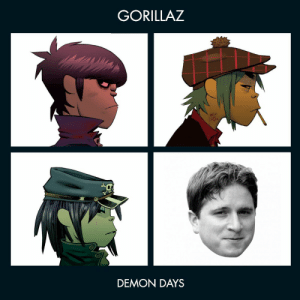 Gorillaz, Demon, and Gorillaz Demon Days: GORILLAZ  DEMON DAYS https://t.co/3dlER83eYR