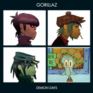 Gorillaz, Demon, and  Days: GORILLAZ  ER  CO  DEMON DAYS https://t.co/H1iLNixW4N
