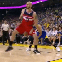 Basketball, Golden State Warriors, and Sports: Gortat should have subbed himself out of the game after this. 😂
