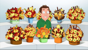 Got a birthday coming up for someone you absolutely hate?... Fruit bouquets: Got a birthday coming up for someone you absolutely hate?... Fruit bouquets