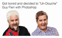 """<p>Took the flavor out of Flavortown via /r/memes <a href=""""http://ift.tt/2BHxFc7"""">http://ift.tt/2BHxFc7</a></p>: Got bored and decided to """"Un-Douche""""  Guy Fieri with Photoshop <p>Took the flavor out of Flavortown via /r/memes <a href=""""http://ift.tt/2BHxFc7"""">http://ift.tt/2BHxFc7</a></p>"""