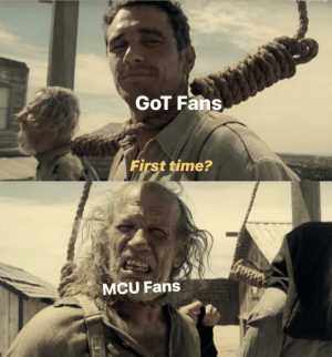 Future, Marvel Comics, and Time: GoT Fans  First time?  MCU Fans When the creators mess up your favorite character's future and toy with your emotions