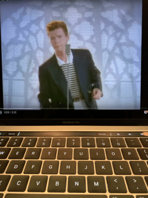 Got so bored studying for midterms I just Rick rolled myself several times: Got so bored studying for midterms I just Rick rolled myself several times