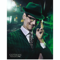 "( GOTHAM SPOILERS ) ❓ I can't believe they did it…they really did it ! EdwardNygma Shot OswaldCobblePot in the Stomach and Pushed him into the Ocean to Die…But we all know Penguin will find a way to crawl back ! BUT I'm so happy they weren't afraid to ""Kill"" Off one of the Main Leads…so much better than having Riddler and Penguin Kiss, please NO. Anyways, in the back half of the season it will be half a StoryLine for TheRiddler and the other Half for The CourtOfOwls ! And Riddler will finally be suiting up in Green and Purple with a question mark Hat ! Comment Below what you Thought of Tonight's Episode ! DCTV HYPE ! GothamSeason3 GothamMadCity ❓( Artist : @aikoaiham ) 👍🏽: GOTHAM  MONDAYS FOX ( GOTHAM SPOILERS ) ❓ I can't believe they did it…they really did it ! EdwardNygma Shot OswaldCobblePot in the Stomach and Pushed him into the Ocean to Die…But we all know Penguin will find a way to crawl back ! BUT I'm so happy they weren't afraid to ""Kill"" Off one of the Main Leads…so much better than having Riddler and Penguin Kiss, please NO. Anyways, in the back half of the season it will be half a StoryLine for TheRiddler and the other Half for The CourtOfOwls ! And Riddler will finally be suiting up in Green and Purple with a question mark Hat ! Comment Below what you Thought of Tonight's Episode ! DCTV HYPE ! GothamSeason3 GothamMadCity ❓( Artist : @aikoaiham ) 👍🏽"