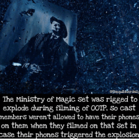 Did you know this? Comment 😏 if you did and 😮 if you didn't. . . . . . . . . __________________________________________________ __________________________________________________ hogwartsishome harrypotter potter potterhead potterheads wizardingworld wizardingworldofharrypotter gryffindor hufflepuff slytherin ravenclaw hogwarts hogwartsismyhome hermione sharethemagic hermionegranger ronweasley lordvoldemort voldemort harrypotterfacts 2016bestnine: Gothequibblerdaily  The Ministry of Magic Set was rigged to  explode during filming of OOTP, So cast  members weren't allowed to have their phones  on them when they filmed on that set in  case their phones triggered the explosion Did you know this? Comment 😏 if you did and 😮 if you didn't. . . . . . . . . __________________________________________________ __________________________________________________ hogwartsishome harrypotter potter potterhead potterheads wizardingworld wizardingworldofharrypotter gryffindor hufflepuff slytherin ravenclaw hogwarts hogwartsismyhome hermione sharethemagic hermionegranger ronweasley lordvoldemort voldemort harrypotterfacts 2016bestnine