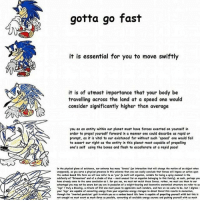 """I hope these memes stop in 2017 ------------------ edgy memes dankmemes dank tagsforlikes tags4likes tagsforfollow tags4follow papafranku h3h3 h3h3productions: gotta go fast  it is essential for you to move swiftly  it is of utmost importance that your body be  at speed would  travelling land consider significantly higher than average  you as an entity within our planet must have forces exerted on yourself in  order to propel yourself forward in a manner one could describe as rapid or  prompt, as it is vital to our existance for without such 'speed' one would fail  to assert our right as the entity in this planet most capable of propelling  one's self using the bones and flesh to accellerate at a rapid pacel  in the physical plene of existence, our universe hes mony forces' (on intercetion that will chong the motion of an objet when  unopposed. es you serve phrieel presence in this universe then one can cosily conclude that forces will impose en coton pon  the carbon based life form we will now refer to es You' (a nulti cell rgonism, noteble for being spiny mannel in the  subfamily of Erinoceinae end of shode of blue mest unusual fer en orgenism belenglngto this family). es tueh, perheps you  heve elreedy come to the same conclusion as i for you see, we must nat resimt these forces, rather, we must use them to our  edvantage you may not be ewere but you cre in posession of weight beoring end tocomotive cnetermicel structure we refer te es  """"legs"""" trvly blessing. a miroete of ilfet one must Pouse to appreelate such wonders. end hew we we eeme to be. butidigress  your 'less' ere copable ef eenverting energy from your organisms energy storoses to dirtet foreet this results in  through the """"inverted pendulum"""" seit in which you cs c  cotton bested life form is eepoble ef propelling yourself with but this is  not enought  we must exert es much force es possible, cenverting ell eveliable energy sources end pushing yourself vith es much I hope these memes stop in 2017 -----"""