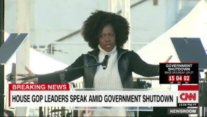 "cnn.com, News, and Tumblr: GOVERNMENT  SHUTDOWN  SINCE SATURDAY 12A ET  150402  BREAKING NEWS  HOUSE GOP LEADERS SPEAK AMIDGOVERNMENT SHUTDOWN CNN  12:04 PM PT  NEWSROOM thepowerofblackwomen:""When I raise my hand, I am aware of all the women who are still in silence."" -Viola Davis during the Women's March 2018"