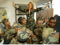 c-bassmeow: Me: I hate the US military Me looking at this picture: all hail the imperialist army of Mariah! : GP 85373 c-bassmeow: Me: I hate the US military Me looking at this picture: all hail the imperialist army of Mariah!