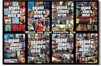 Memes, Gta 5, and Grand: gpand  gRand  Theft  itineFT:  aUGO IT  aUGO,  R  Which one you rfavourite gta  emand :  and  and  gnandir  itineFD/  theFti  R  dFn  n 2D  ne  ta GTA 5 😍😍 Follow @lossantosmedia.ig for more