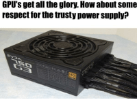 Respect, Power, and All The: GPU's get all the glory. How about some  respect for the trusty power supply?  0