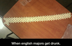proudreally:  This is too good not to reblog: GR  EAN  AT  When english majors get drunk.  WHE  DYE proudreally:  This is too good not to reblog