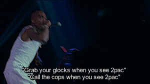 gall: Grab your glocks whe  Gall the cops when you see 2pad