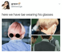 salman khan is that you🙄 . . . . . . . . Credit to owner✌: grace  ablisssuga  here we have tae wearing his glasses salman khan is that you🙄 . . . . . . . . Credit to owner✌