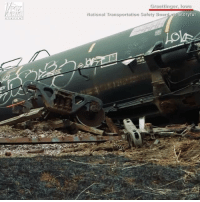 The National Transportation Safety Board​ is investigating the cause of an Iowa rail tanker derailment and fire that happened last week.: Graettinger, loya  Story ful  National Transportation Safety Board The National Transportation Safety Board​ is investigating the cause of an Iowa rail tanker derailment and fire that happened last week.