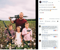 """Advice, Bailey Jay, and Be Like: Graham Allen  Like This Page . Yesterday .  Practicing our """"toxic masculinity""""  Hey Gillette does this offend you?!  I'll raise my kids the way I believe they should  be  thanks for your advice  -Graham  00 70K  9K Comments 10K Shares  t Like Comment Share  Most Relevant  Joanna Jaguar Gillette: be better, treat  people with respect, stand up to bullying.  This dude: YOU'LL NEVER TAKE MY  GUNS  06.2K  Like Reply 20h  121 Replies  Chelsea Lynn I guess Gillette does irritate  sensitive skin after All  2.1K  Like Reply 23h  200 Replies  David Johnson I used to be like this  always up in arms ready to defend things  that weren't even being attacked. To  anyone who hasn't seen the ad, it has  absolutely nothing to do with firearms.  You might want to give it a watch, if you  take offense to it then you mi... See More  Like Reply 1d Exposing your kids to danger and awful culture just because of your fragile image"""