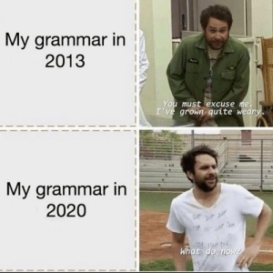 Grammar for the win: Grammar for the win