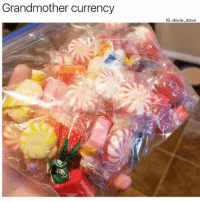 Someone needs to make a granny candy game. Like I'll trade you two spiral candies for a strawberry grandma candy. Should we start a kickstarter? Lol: Grandmother currency  G: davie_dave Someone needs to make a granny candy game. Like I'll trade you two spiral candies for a strawberry grandma candy. Should we start a kickstarter? Lol