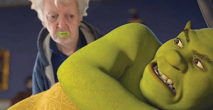 Grandpa ate shrek and thought it was yogurt: Grandpa ate shrek and thought it was yogurt