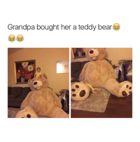 Edwin thinks he knows much about NFL 😂😂: Grandpa bought her a teddy bear Edwin thinks he knows much about NFL 😂😂