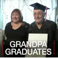 Memes, School, and Grandpa: GRANDPA  GRADUATES 19 JUL: Charles Leuzzi has graduated from high school – at the age of 97. The decorated World War Two veteran was forced to leave school early in 1936 to take a job. Then he went to war, so didn't get to finish his diploma – until now. Veteran Graduation Graduate BBCShorts BBCNews @BBCNews