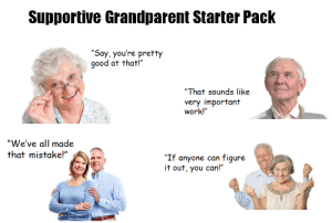 Grandparents are the best: Grandparents are the best