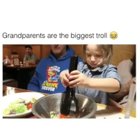 Memes, Troll, and Trolling: Grandparents are the biggest troll  KREVER Gramps is the next Houdini 😂